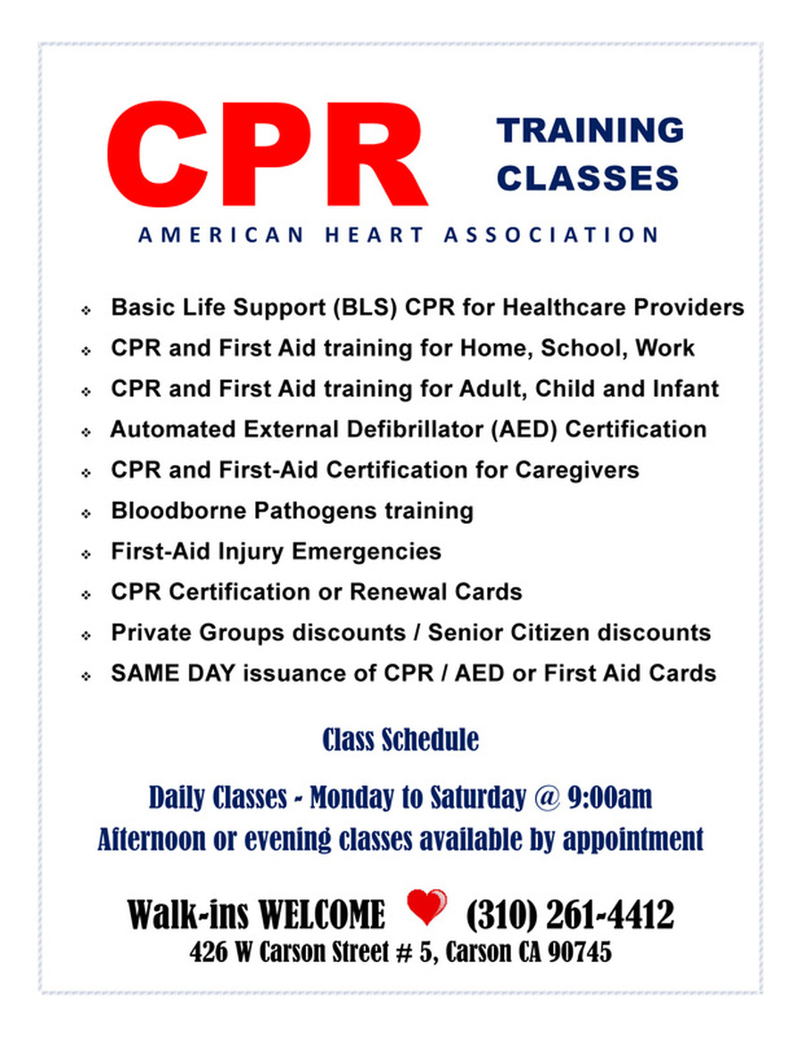First Response Education Cpr And First Aid Training Classes Home